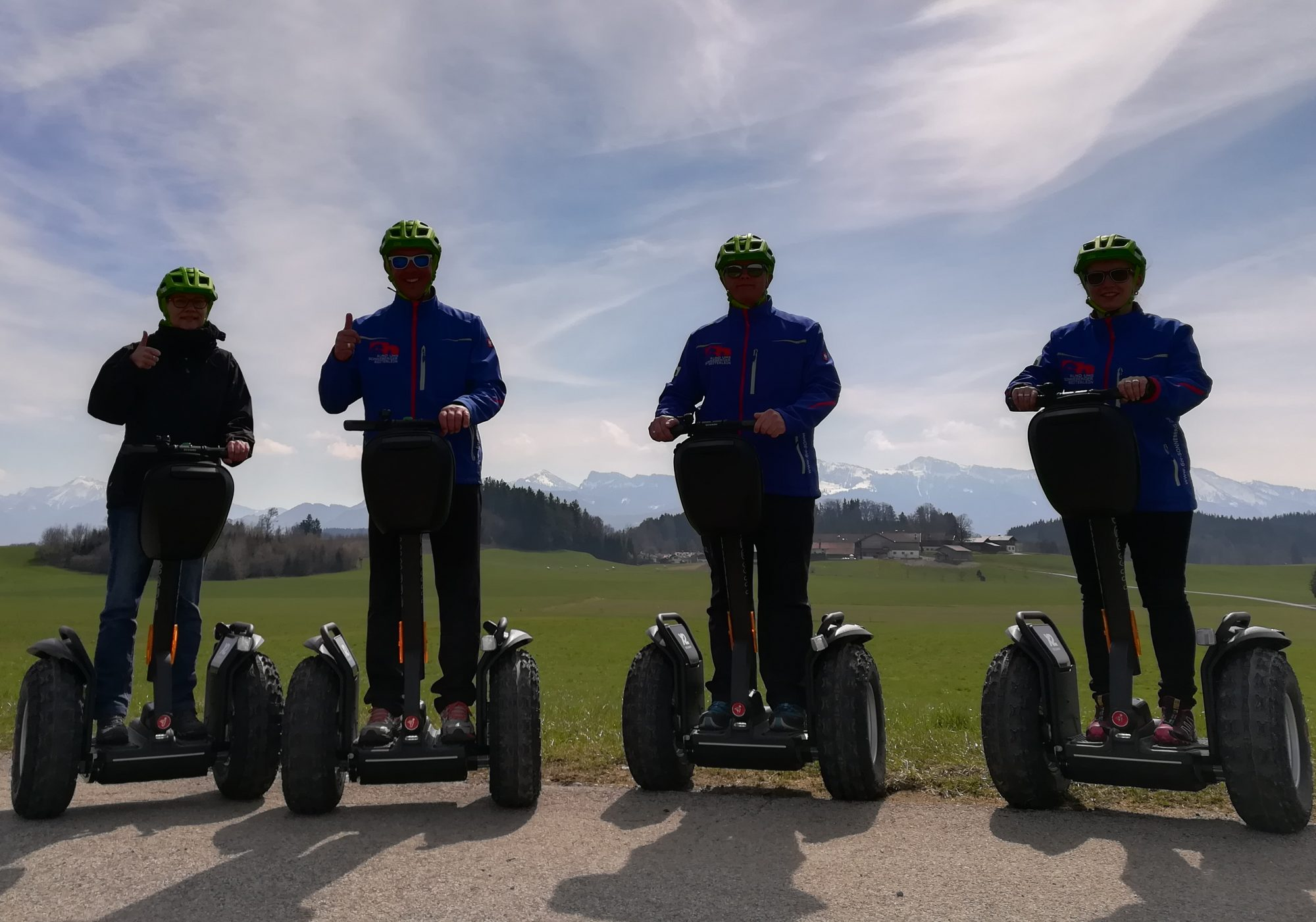Segway am Chiemsee